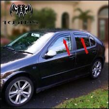 Set 4 Déflecteurs de vent pluie air teintées Seat Leon 1M 98-06 Toledo II 98-04