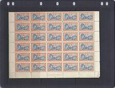 BAHAMAS 1938 KGVI SG 158-160 complete sheets of 60 VF MNH *read description*