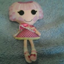 Lalaloopsy Jewel Sparkles Original Plush Doll Pink Hair Cute!