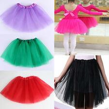 Girls/Adult 2016 Tulle Party Ballet Mini Short Women Tutu Skirts Red