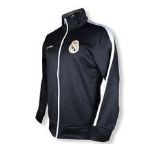 Real Madrid 2020 Official Full Zip Track Jacket - Black