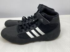 Adidas Mens 6 Black White Wrestling Shoes Art. No. Aq3327