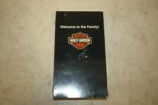 Harley-Davidson Welcome to the Family! VHS Video Tape - New & Unopened 99440-04