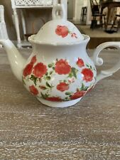Teapot with Roses