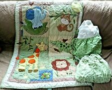 Circo 3 Piece Nursery Bedding Set Jungle Animals Comforter Crib Skirt Sheet Lion