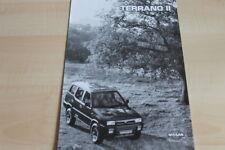 110476) Nissan Terrano II - technische Daten & Ausstattungen - Prospekt 11/1995