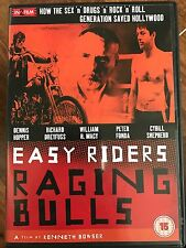Easy Riders Raging Bulls ~ Peter Biskind 1970s HOLLYWOOD DOCUMENTARIO UK DVD