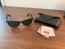 Vintage Bausch & Lomb B& L Ray Ban USA Wayfarer 5024  Black  Frame 50mm  w/ Case