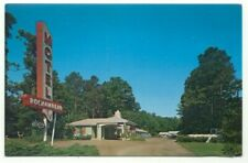 Motel Rochambeau ~ Williamsburg Virginia ~ Postcard