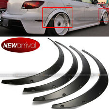 Will Fit Civic Wheel Fender Flares wide Body Flexible ABS Plastic Universal