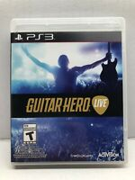 Guitar Hero Live (PlayStation 3, 2015) Game Only - Clean & Tested Working