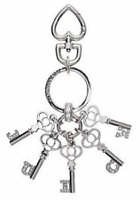 Juicy Couture Key Ring fob Purse Charm JUICY Pave Script Keys NEW