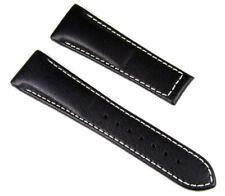 Citizen Uhrenarmband Leder Band 23mm schwarz ohne Schließe für AS4050