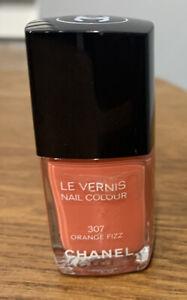 New Authentic Chanel Le Vernis Nail Polish 307 Orange Fizz Spring Summer