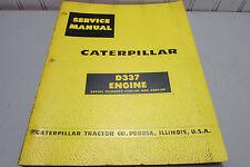 Caterpillar D337 Engine Service Manual 37B1-UP 38B1-UP