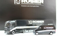 "Rosier Sondermodel ""10 Jahre Rosier NFZ Oldenburg"" Set Mercedes-Benz Actros Spri"