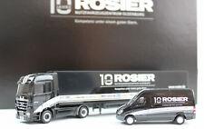 """Rosier Sondermodel """"10 Jahre Rosier NFZ Oldenburg"""" Set Mercedes-Benz Actros Spri"""