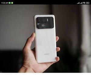 Xiaomi mi 11 Ultra WHITE. CN version, ENGLISH. easy Play Store Installation.