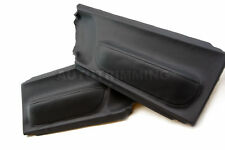 98-10 Volkswagen Beetle Vinyl Door Panel Insert Cards Black
