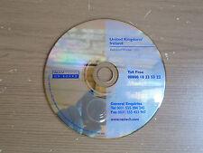 Renault Fiat Map Disc CD NAVTECH United Kingdom & Ireland Autumn/Winter 2001