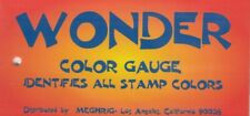 Wonder Stamps Color Gauge Identifies All Issues Us United States 150 Colors