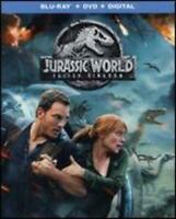 Jurassic World: Fallen Kingdom (Blu-Ray+DVD) NEW FREE SHIPPING!