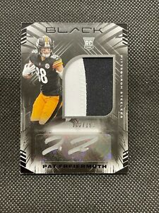 2021 BLACK Pat Freiermuth ROOKIE PATCH AUTO 112/199 Steelers RPA