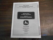John Deer Gator Wench Operator Manual Om152201