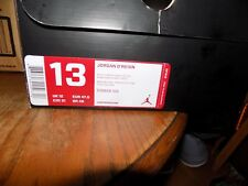 BRAND NEW IN BOX AIR JORDAN WADE D REIGN BLACK/RED/WHITE SIZE 13 #510859-102