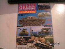 *** Revue Steel Masters n°20 Arme blindée Italienne / Churchill Avre