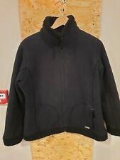Regatta Black Wool Outdoor Jacket Size UK 16