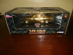 Racing Champions 10 Year NASCAR  1:24 Scale Diecast Car  24K Gold