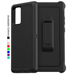 For Samsung Galaxy Note 20 / 20 Ultra 5G Case with Belt Clip & Screen Protector