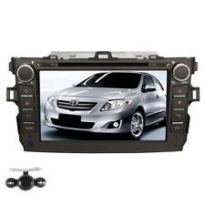 "7"" GPS Car Radio DVD Player Navigation Stereo Fr Toyota Corolla 2007-2010+camera"