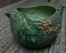 Vintage Roseville Green Bowl