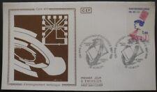 FRANCE FDC Enseignement technique 04-10-1986 Voiron