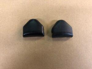Ford Escort mk2 Seat Belt top pillar nut covers...pair.