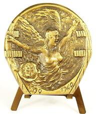 Médaille au Général Charles de Gaulle RPR Allégorie la France victorieuse Medal