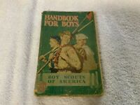 First Edition Thirty Fifth Printing Boy Scout Handbook For Boys 1942