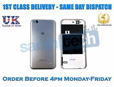 ZTE Blade S6 Rear Housing Battery Door Cover Panel Case With Buttons Grey Silver