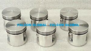 Sealed Power 1009P 60 Engine Pistons set/6 Chevy Blue Flame 1955-up