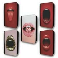 UK Passport Holder Case Cover Lips Collection 1