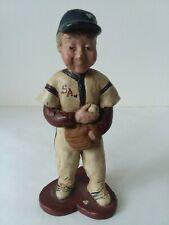 Sarah's Attic Baseball Player #5802 1988 Side Heart