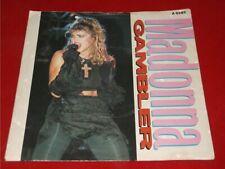 """Madonna:  Gambler    UK   EX   7"""""""