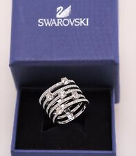 Swarovski Rhodium-Plated Silver Color Creativity Ring size 7 /EUR 55 #5166812