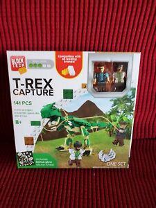 Block Tech Building Set ( T-Rex Capture)