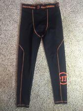 IMPERFECT Warrior Mens Black  Compression Pants Base Layer SZ XL SEE PICS kd1
