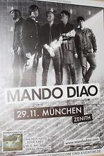 Mando Diao- Tourposter/Tourplakat 2017 - Zenith München - NEU