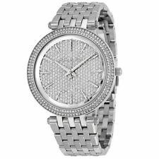 Новый Michael Kors MK3437 Дарси покрытие серебристого оттенка дамский наручные часы