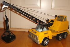 Rare & Vintage Nylint Crane Bucket Construction Truck, 1960's